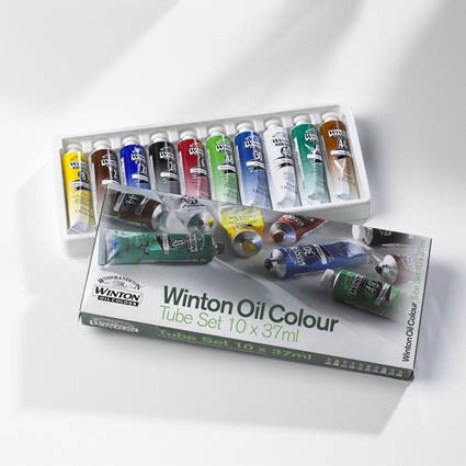 Winsor & Newton Winton Oil Set of Ten 37ml Tubes
