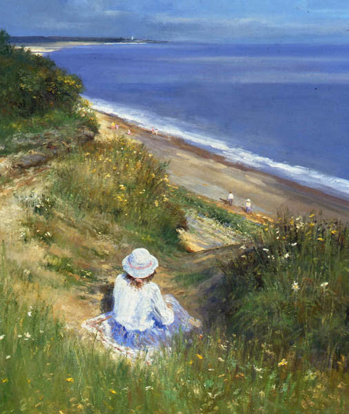 Charles Neal - Above Dunwich Beach
