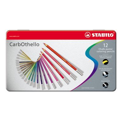 Stabilo Carbothello Chalk-Pastel Pencils Set of 12