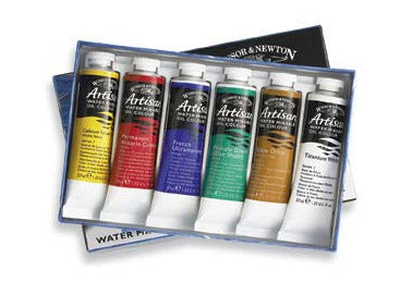 Winsor & Newton Artisan Water Mixable Starter Set 6x21ml Tubes