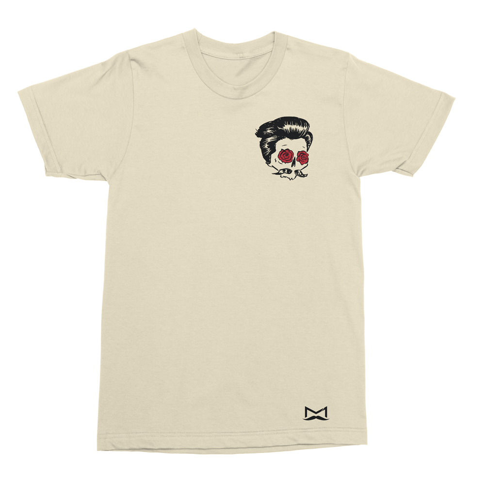 Manner - Skull & Roses Tshirt
