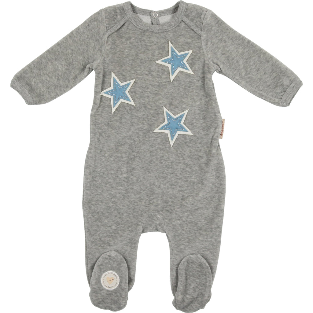 Star Patch Footie