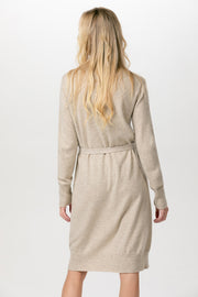 High Neck Cashmere Dress |WK36|