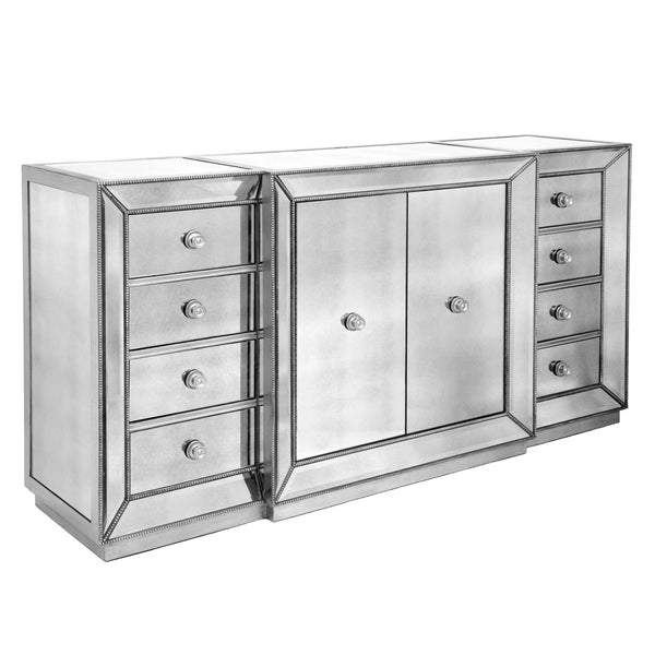 Omni Mirrored 6 Drawer Dresser