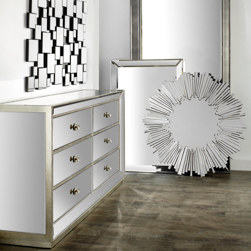 Omni Mirrored Dresser