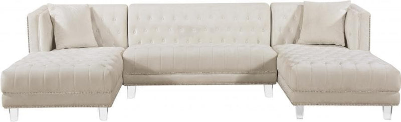 Moda Velvet 3pc. Sectional