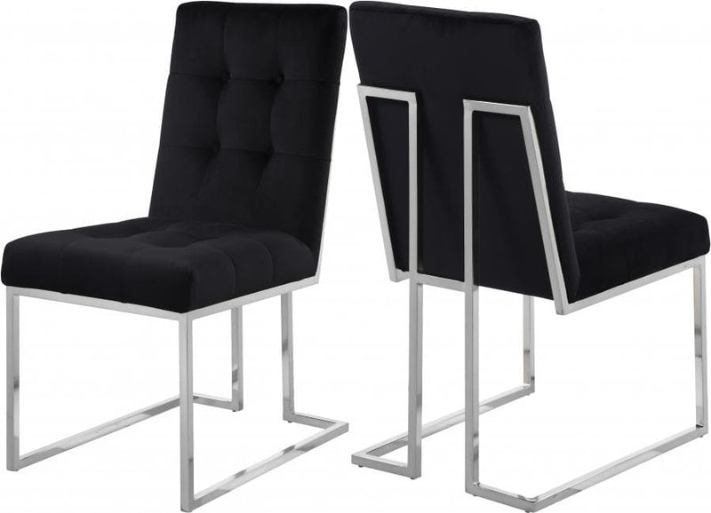 Alexis Velvet Dining Chair set of 2