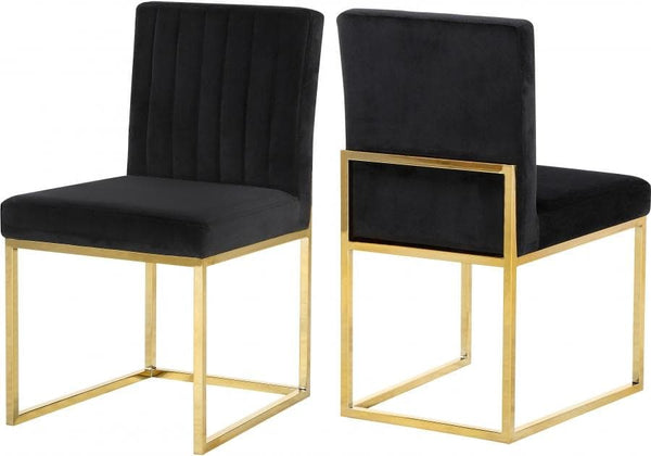 Giselle Velvet Dining Chair set of 2