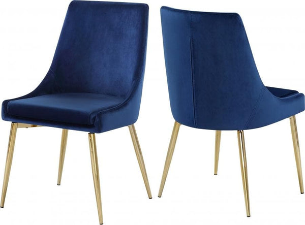 Karina Velvet Dining Chair set of 2