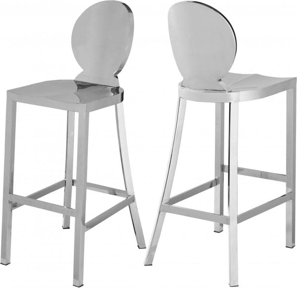 Maddox Stainless Steel Bar Stool