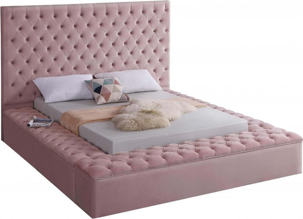 Bliss Velvet Bed