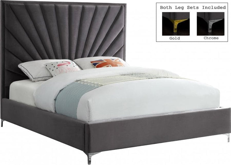 Eclipse Velvet Bed
