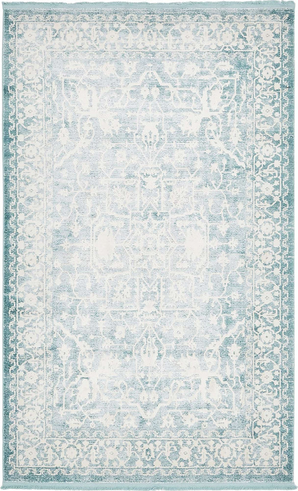 Light New Classical Rectangle Rug
