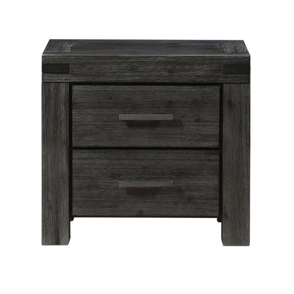 Meadow Graphite Nightstand