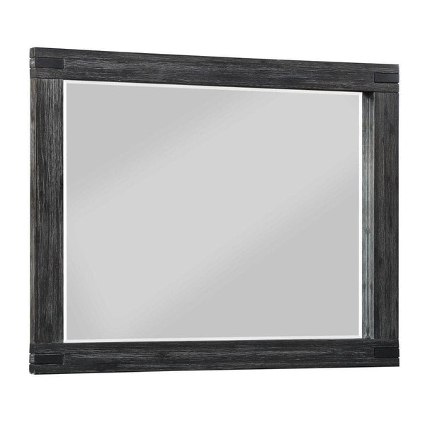 Meadow Graphite Mirror