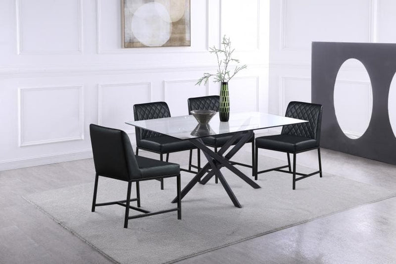 Bryce Faux Leather Dining Chair set of 2