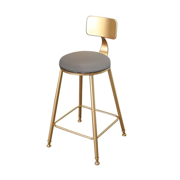 Nordic Golden Counter Stool