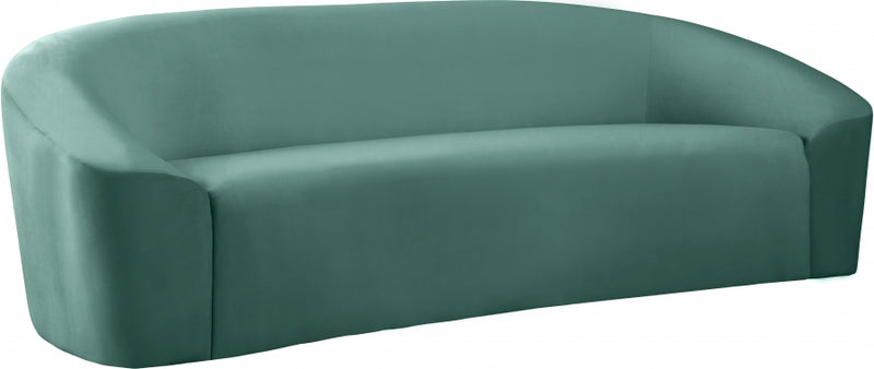 Riley Velvet Sofa