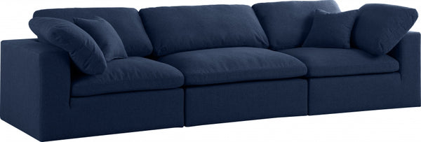 Cloud Serene 3 Piece Linen Fabric Modular Sofa