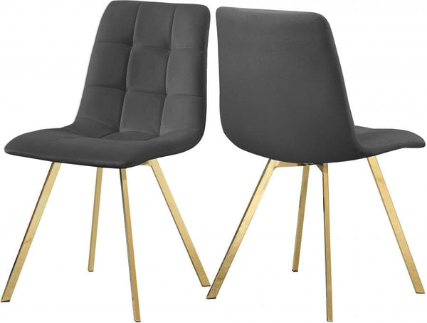 Annie Velvet Dining Chair set of 2
