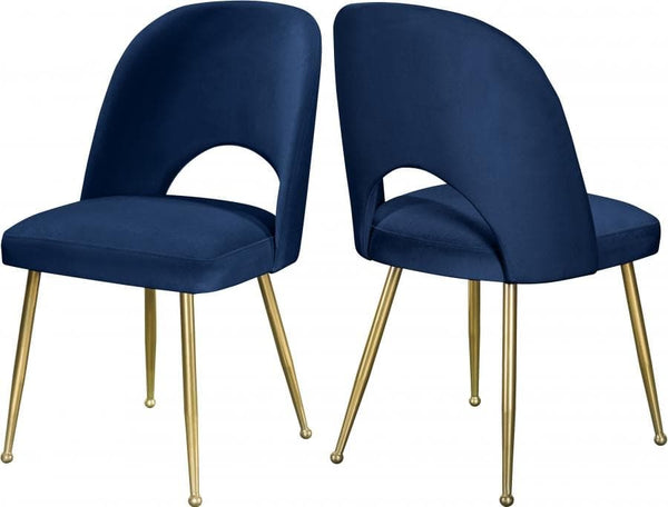 Logan Velvet Dining Chair set of 2