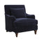 Wendy Accent Chair With Turned Legs Midnight Blue