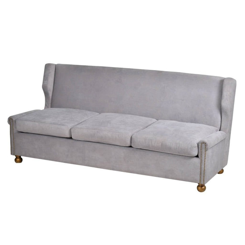 Regal Velvet Sofa