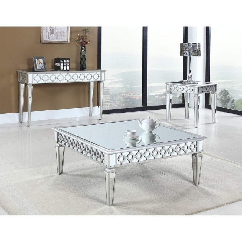 Sophie Mirrored silver Coffee Table