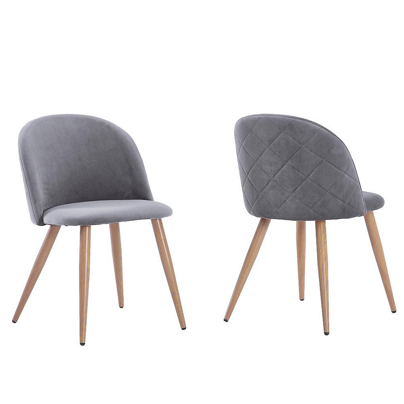 Vickie Modern Velvet Dining Chairs (Set of 2)