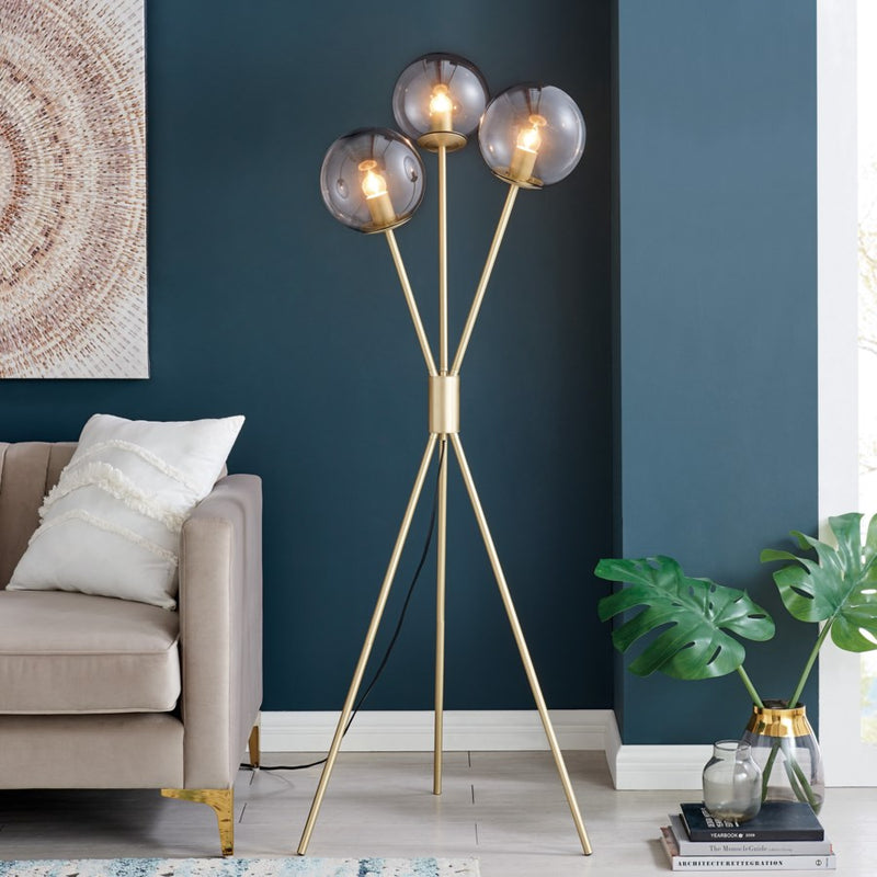 Lancy 3 Lite Floor Lamp