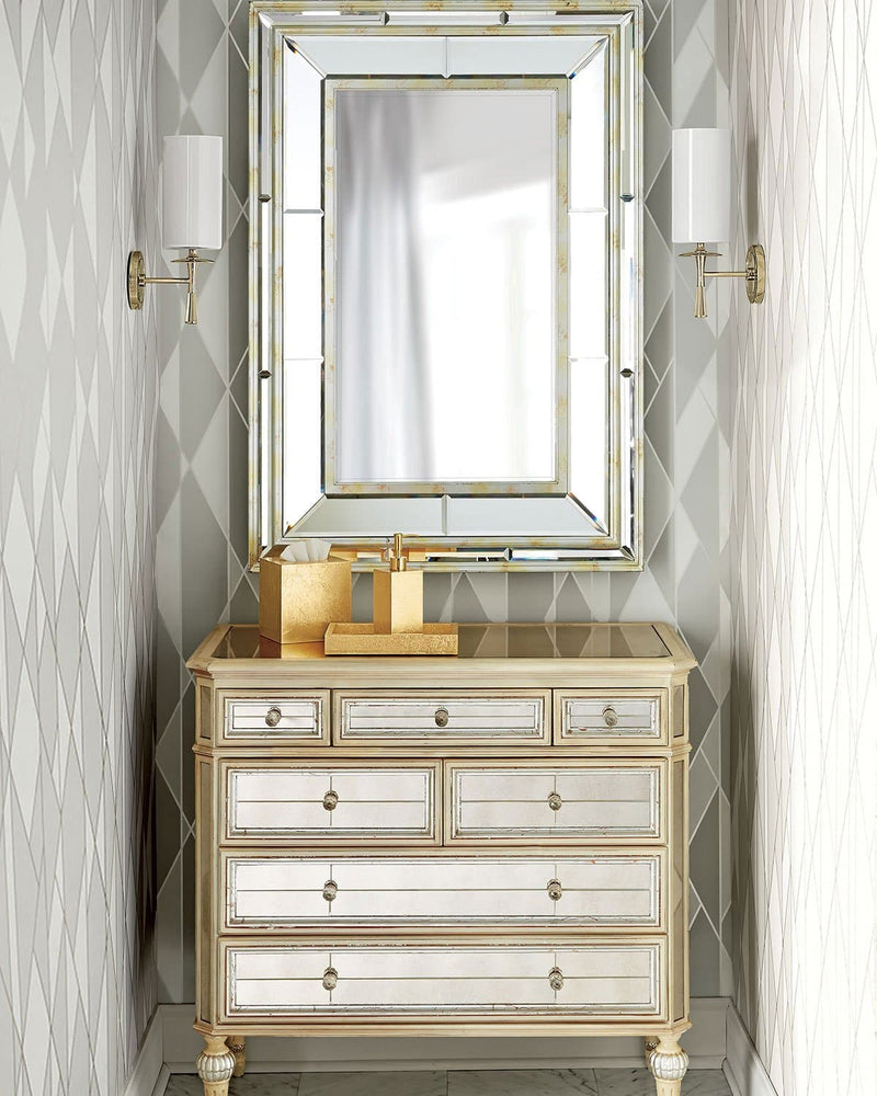 Dresden Mirrored Hall Chest