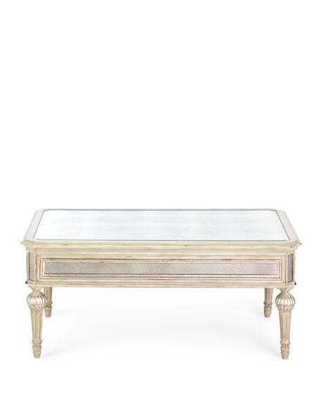Dresden Square Mirrored Coffee Table