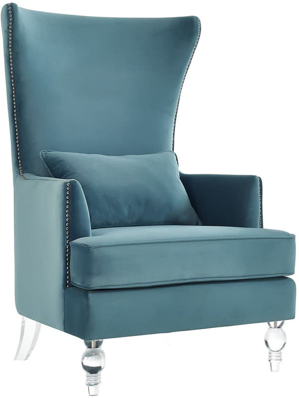Bristol Sea Blue Tall Chair