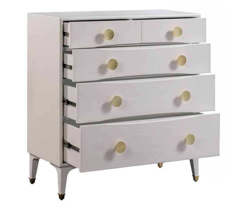 Divine White Chest - hollywood-glam-furnitures