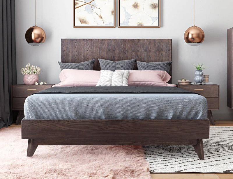 Loft Wooden King Bed
