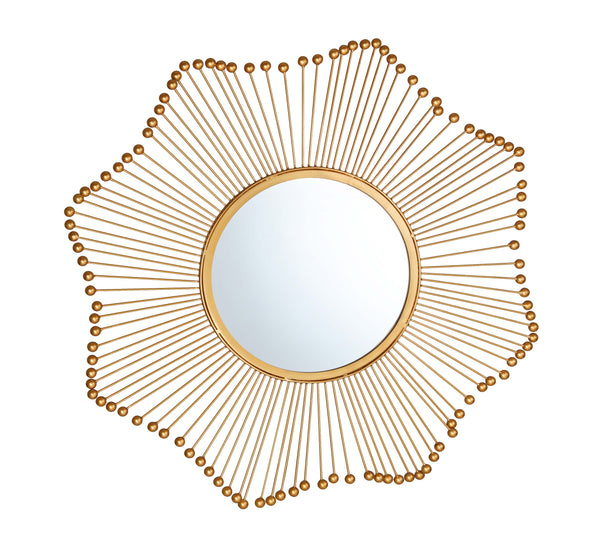 Ray Gold Mirror - hollywood-glam-furnitures