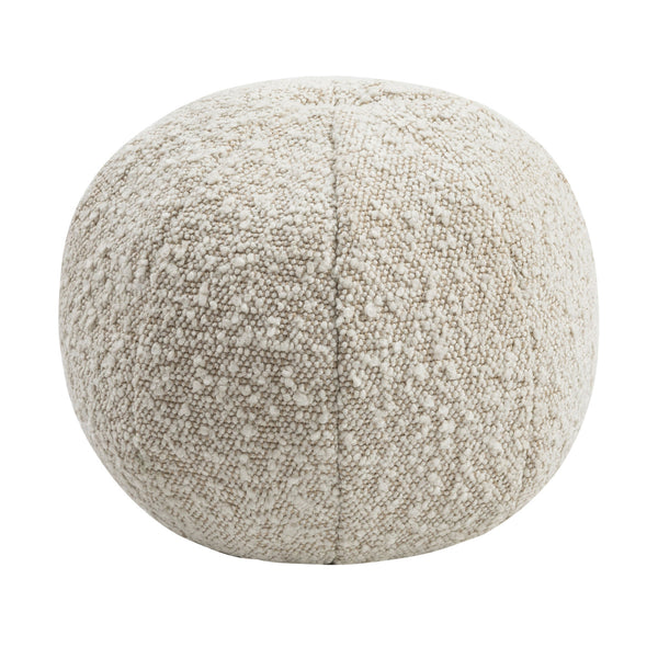 "Boba 9"" Beige Bouclé Pillow"