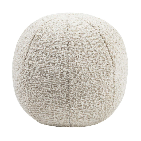"Boba 14"" Beige Bouclé Pillow"
