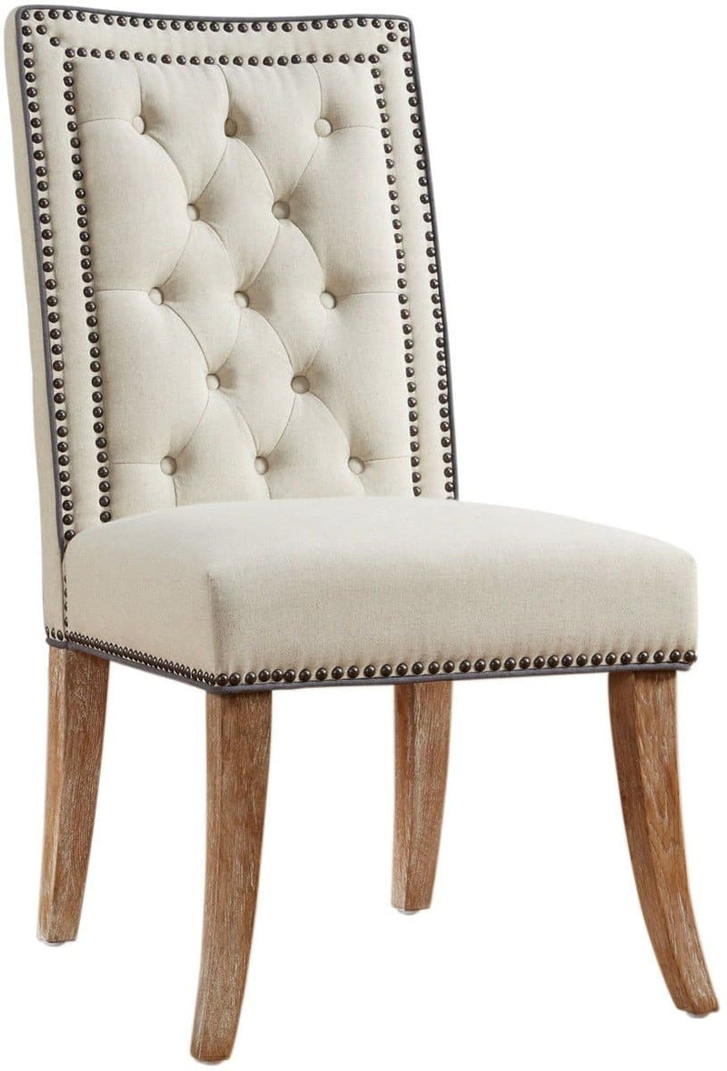Garrett  Linen Dining Chair (Set Of 2)