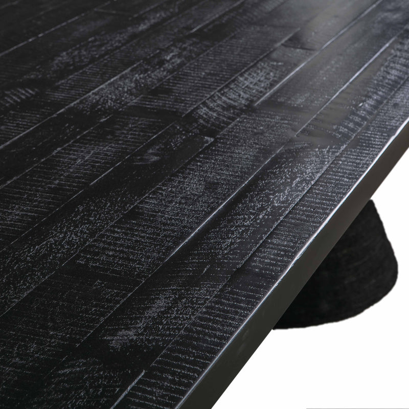 Rishi Black Rope Table - hollywood-glam-furnitures