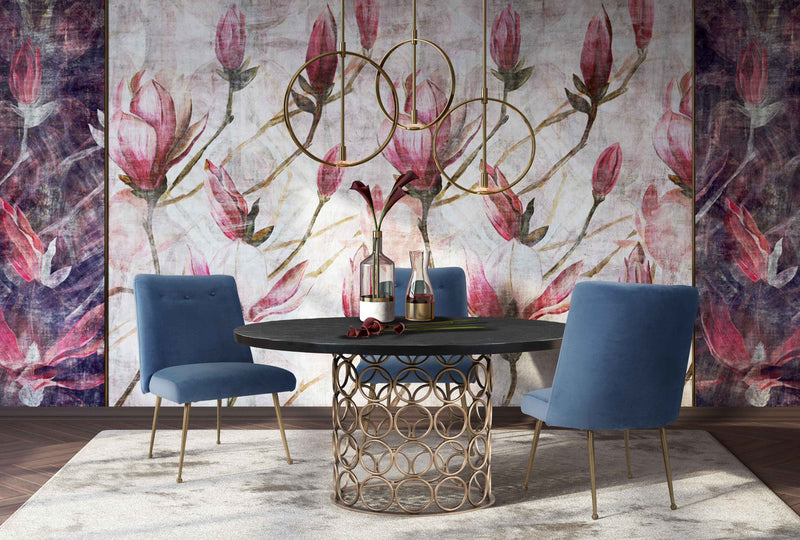 Batik Velvet Dining Chair