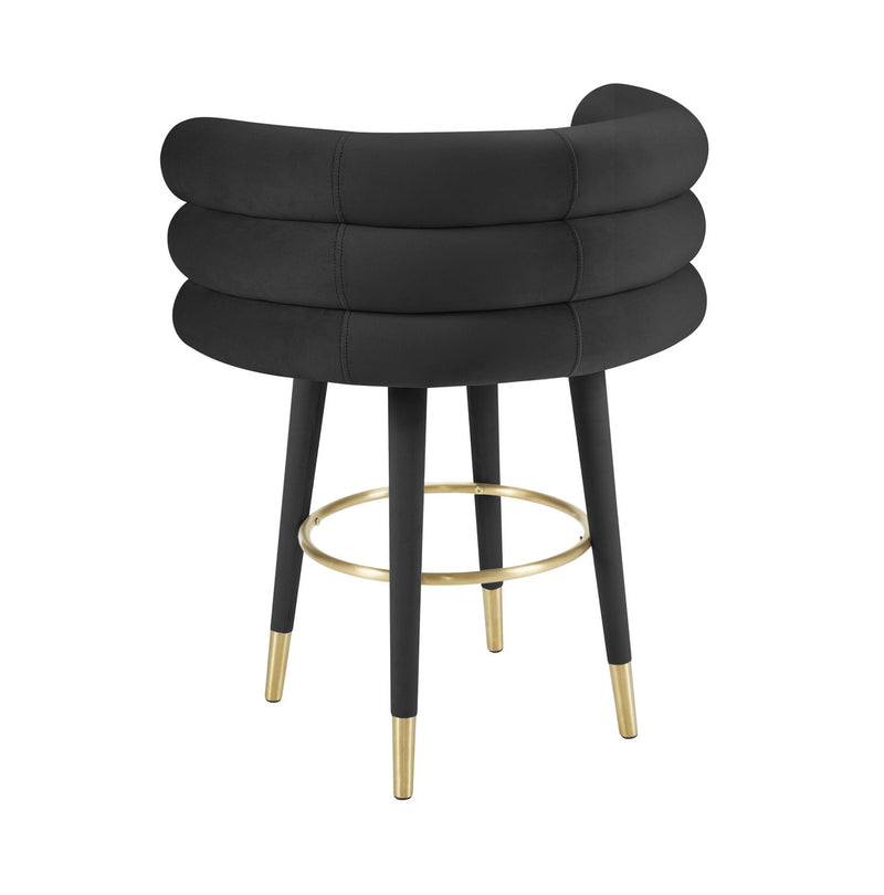 Betty  Velvet Counter Stool