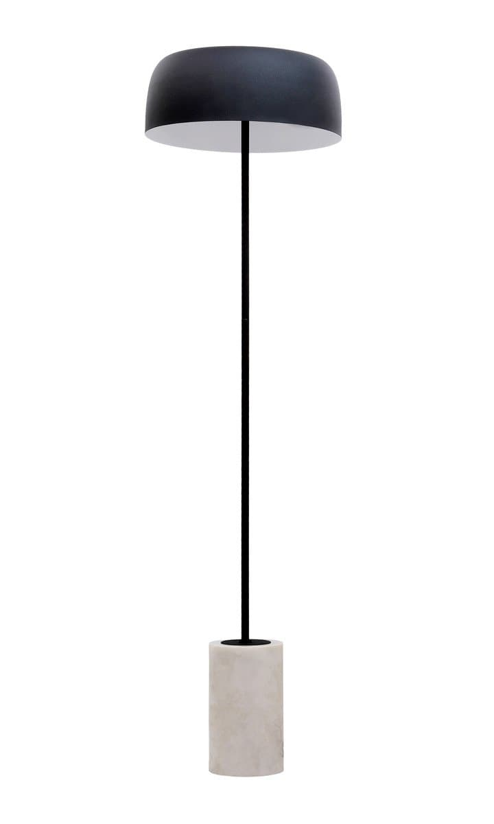 Arena Marble Base Floor Lamp - hollywood-glam-furnitures