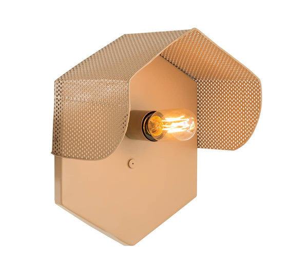 Mokhtar Tan Hexagon Wall Sconce