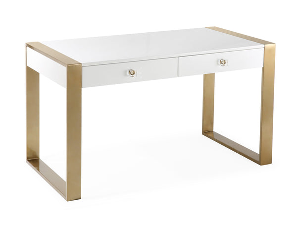 Karina Writing Desk - hollywood-glam-furnitures