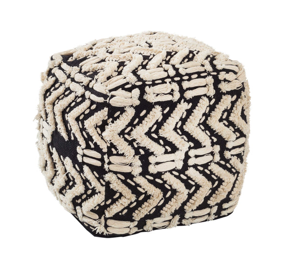 Mariel Cotton Pouf