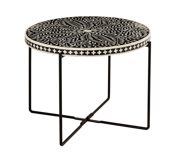 Morocco Bone Inlay Cocktail Table