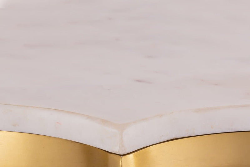 Camilla Marble Side Table .