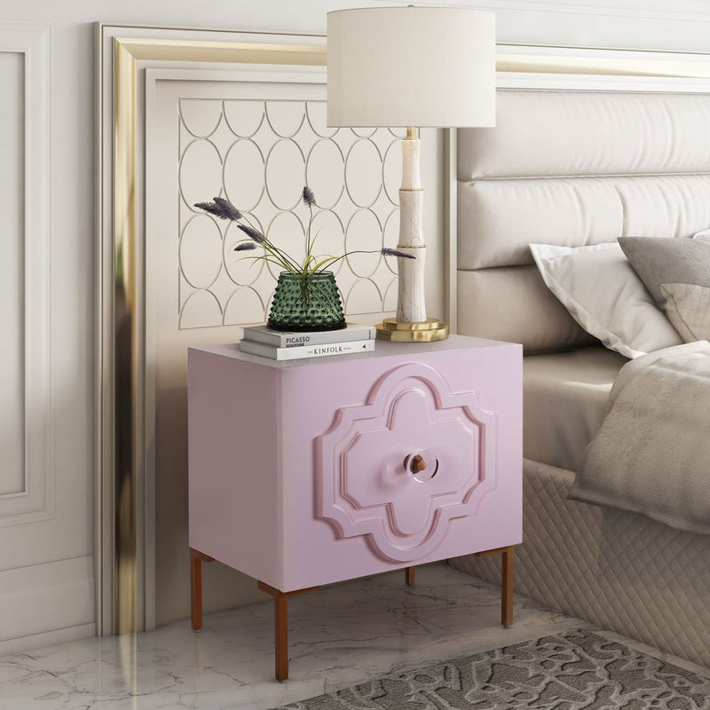 Anna Lacquer Side Table