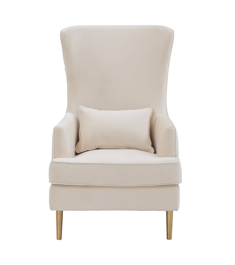 Alina Tall Tufted Back Chair By Inspire Me